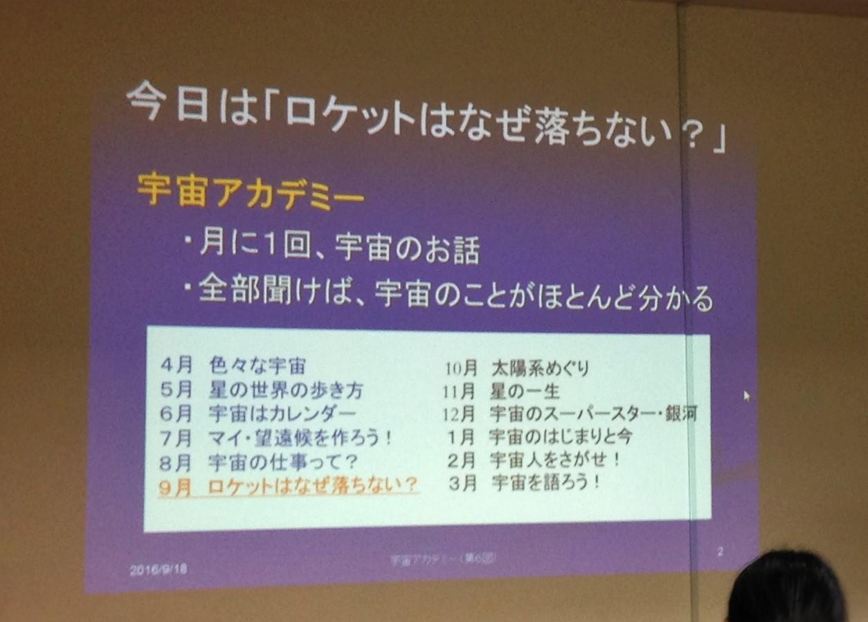 【レポート】9月の子ども宇宙アカデミー