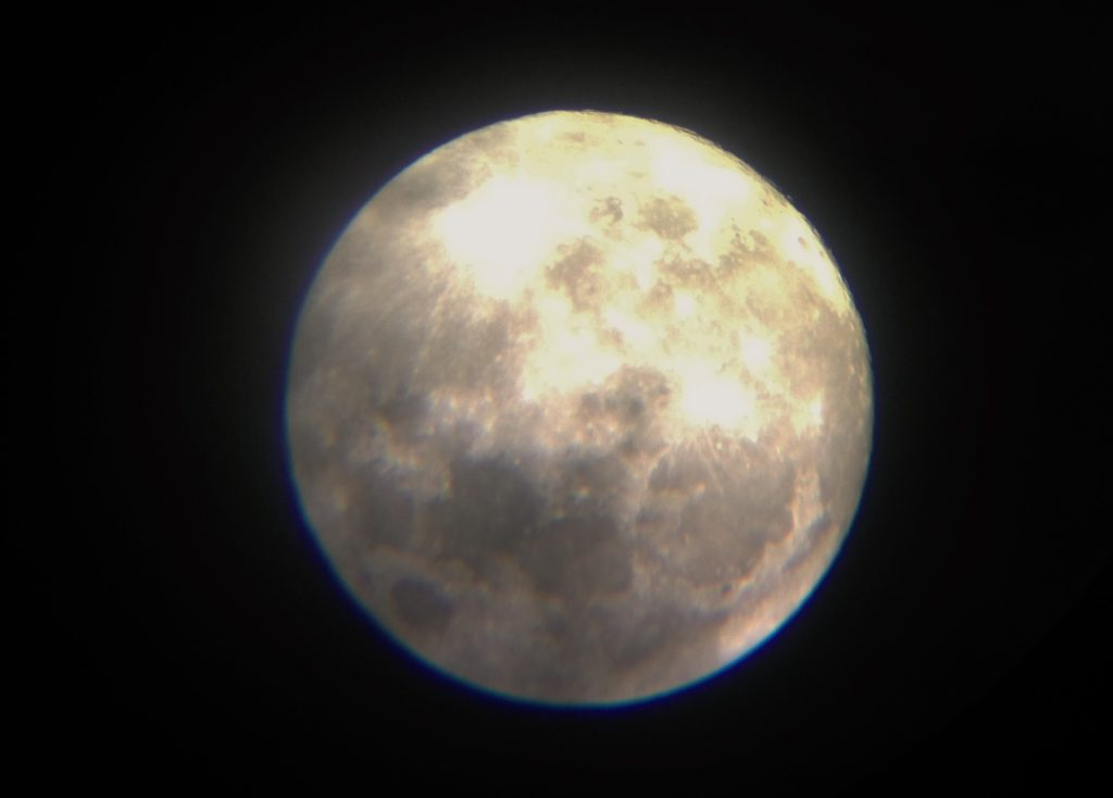 今年、最小の満月