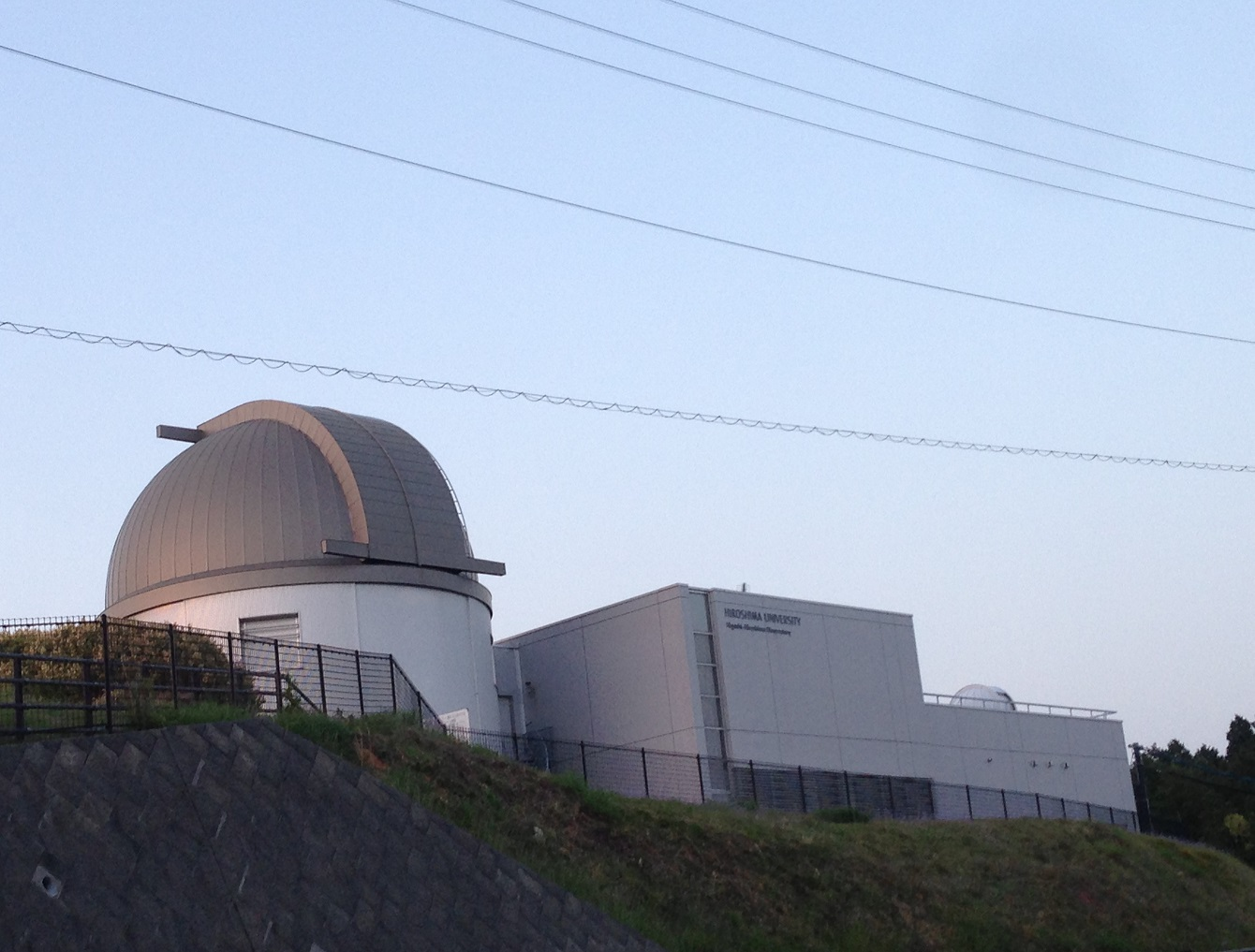 【レポート】東広島天文台へ・・・